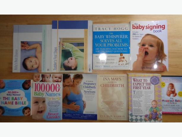 Assorted Pregnancy & Baby Books