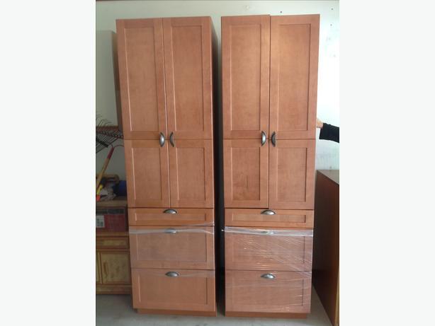 Rona Everwood Cinnamon kitchen cabinets Central Saanich ...