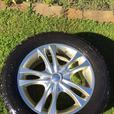 235/55R17 Alloy Rims & Winter Tires