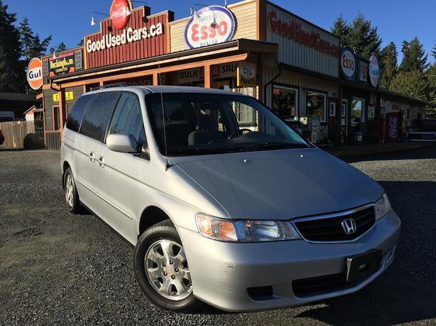 2002 Honda Odyssey EX - Low KM, Local with No Accidents!