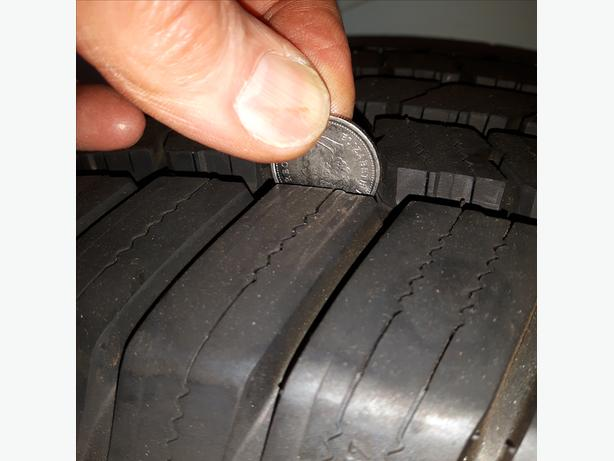 One Only Used Michelin LTX P275/65R18