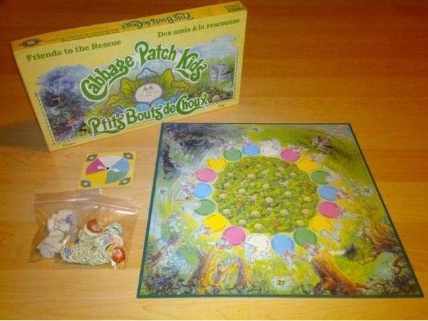 Vintage 1986 Cabbage Patch Board Game