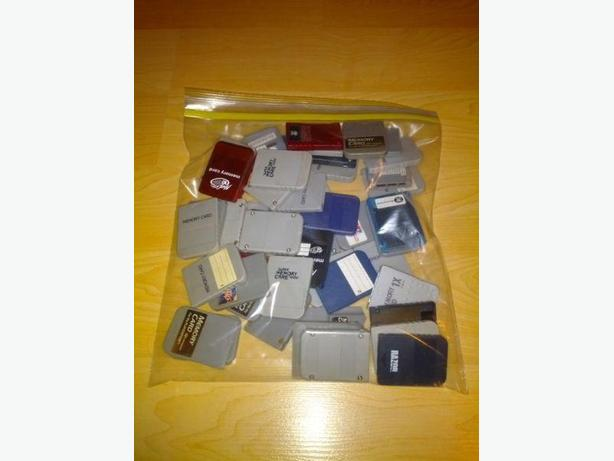 Standard Memory Card For The Playstation 1