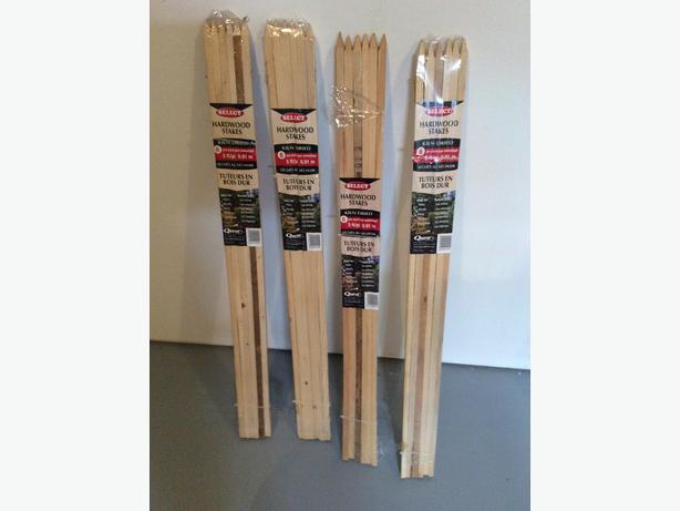 3 FOOT HARDWOOD PLANT SUPPORT STAKES