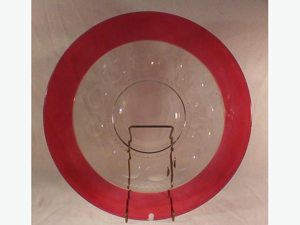 Ruby King's Crown serving tray
