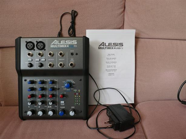 Alexis Multimix4 FX portable Mixer