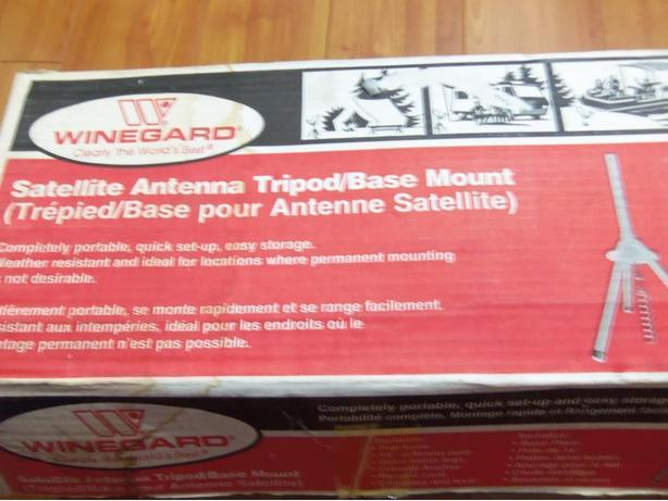 Winegard TR-2077 Satellite Antenna Tripod Base Mount