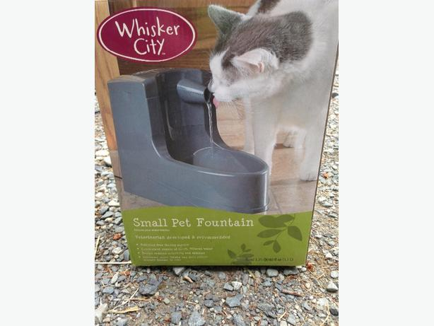 small pet fountain.