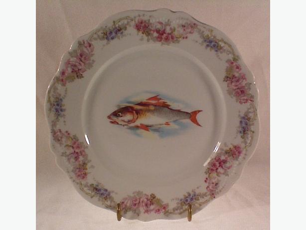 Austrian Gutherz fish plate