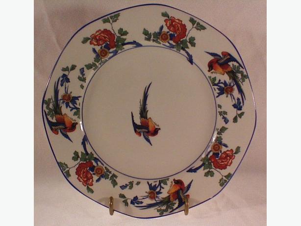 GJ & Sons Golden Pheasant plate