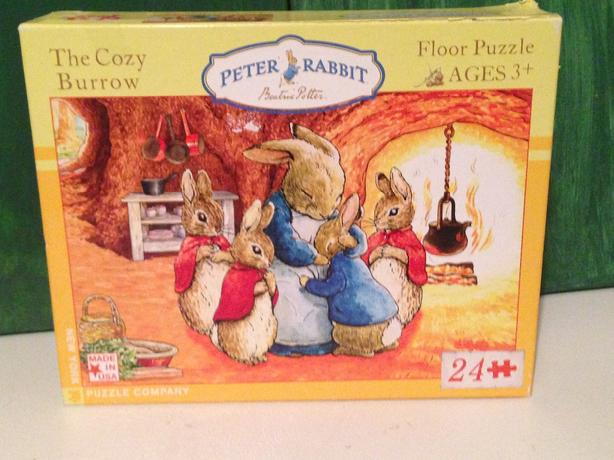Peter Rabbit floor puzzle