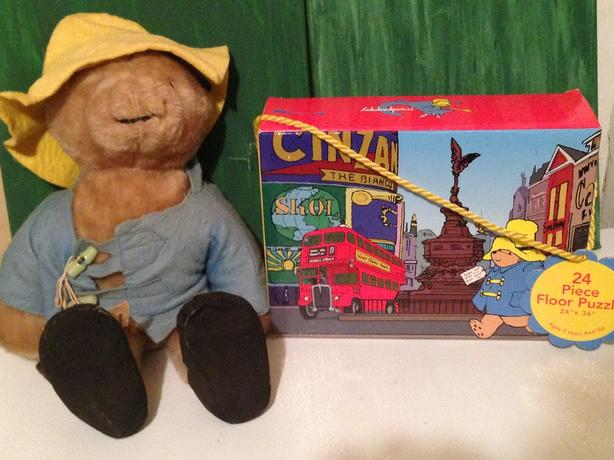 Paddington Bear and puzzle