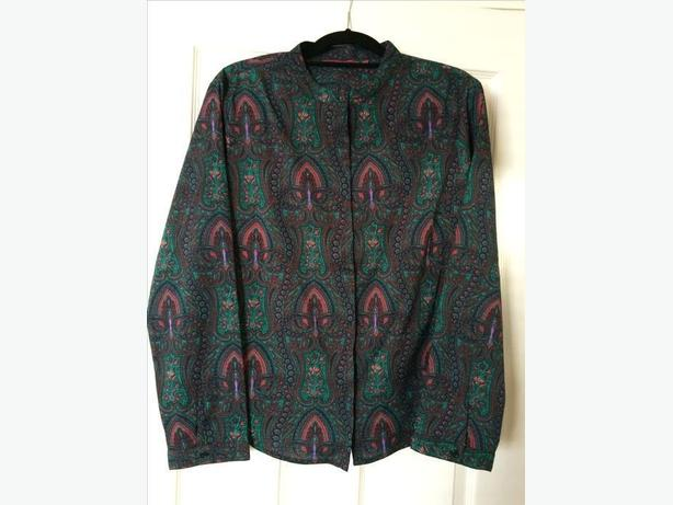 Woman's patterned shirt