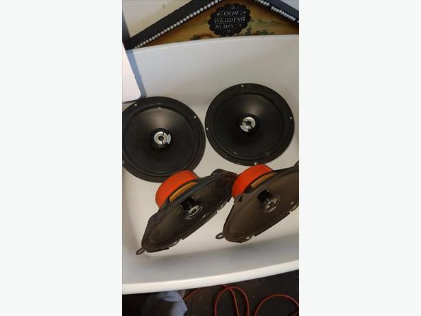 """Hertz 5x7"""" and 5"""" speakers"""