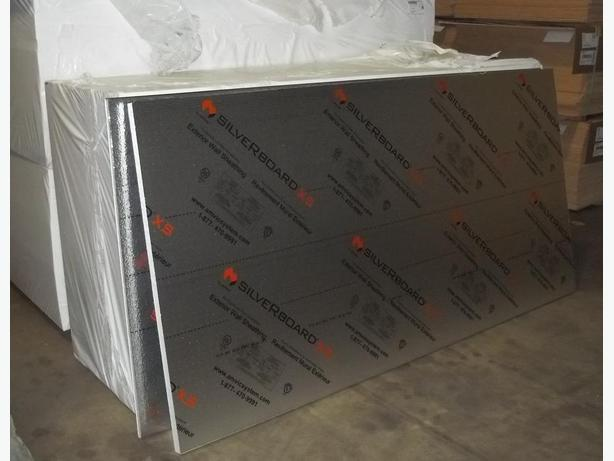 Rigid Insulation sheets in stock