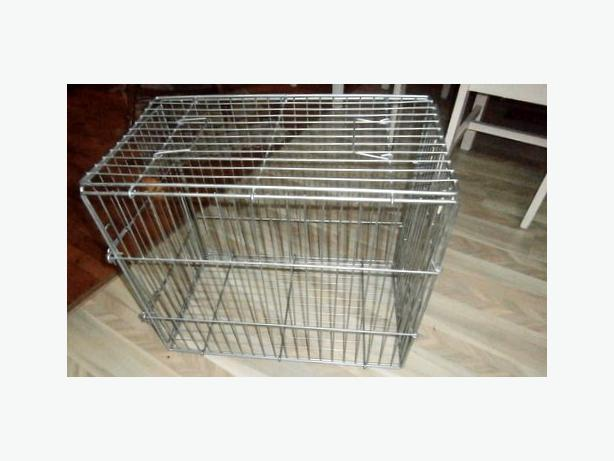 Wire Dog Crate, medium size, 'like new'