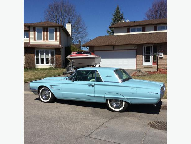 "BEAUTIFUL  ""1965  FORD THUNDERBIRD  (CERTIFIED)"