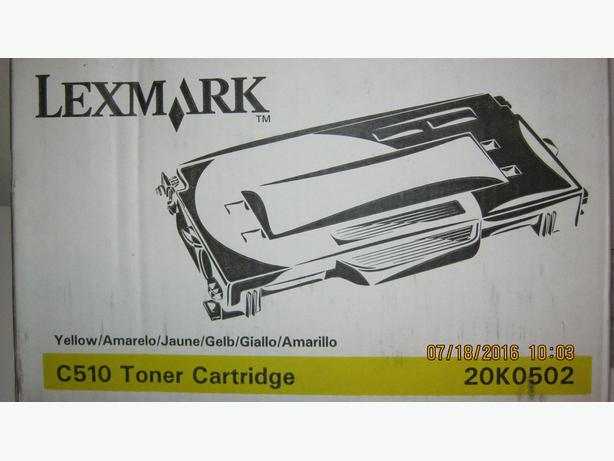 LEXMARK YELLOW X510 TONER CARTRIDGE (CHEMAINUS)