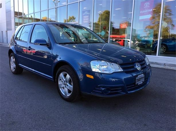 2009 Volkswagen Golf City 2.0L NO ACCIDENTS LOCAL B.C ONE OWNER