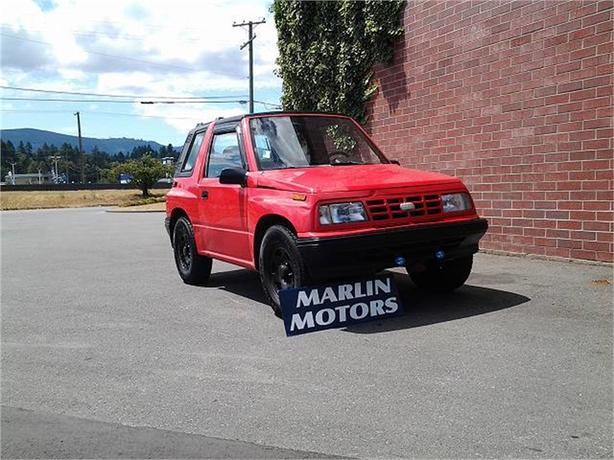 1992 Geo Tracker Convertible 2WD