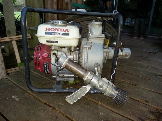Honda trash pump 2""
