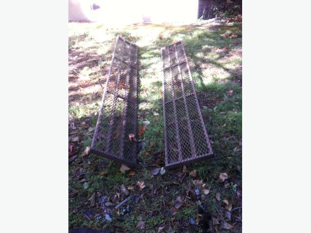heavy duty 9ft steel ramps