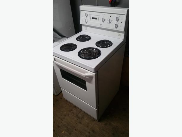 "24"" wide apartment sized stoves"