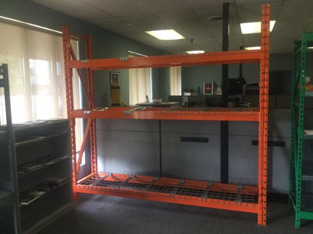 "24"" wide Redi rack pallet racking / heavy duty shelving"