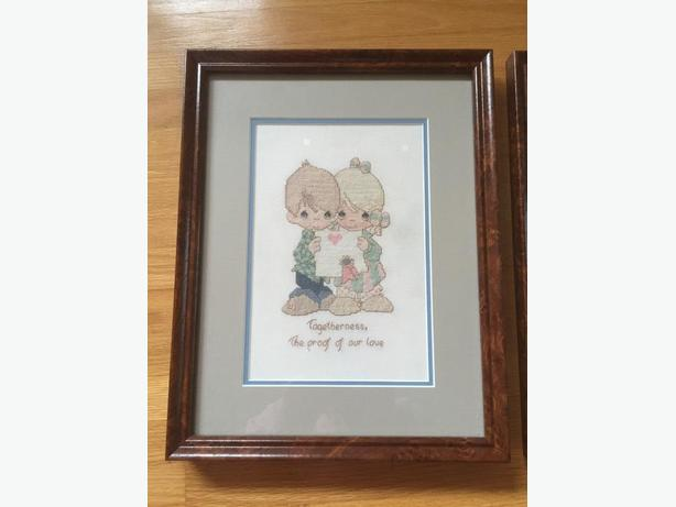 Precious Moments Cross Stitch Pictures