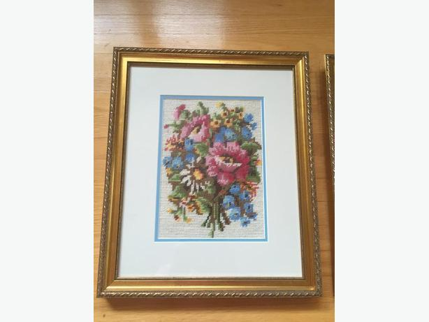 Flower Cross Stitch Pictures