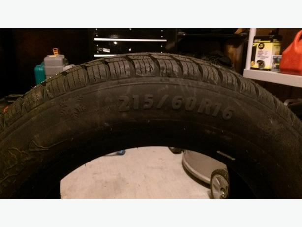Urgent must sell 4 brand new 215/60r/16 snow tires