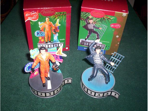 Elvis Presely Musical Ornaments