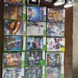xbox 360, and kinect plus approx. 30 games