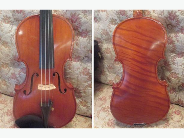 violin made in 1902