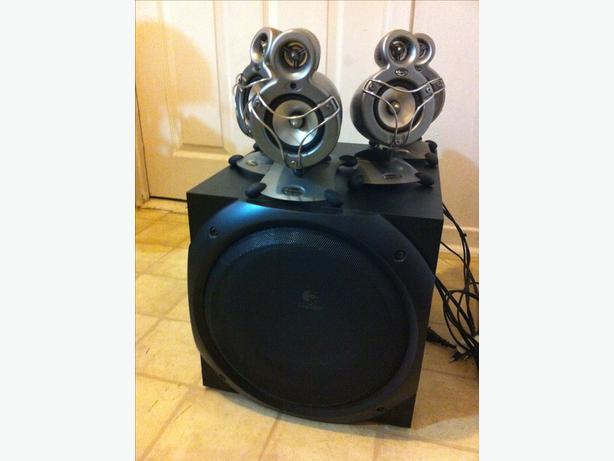 5.1 500 watt speaker set