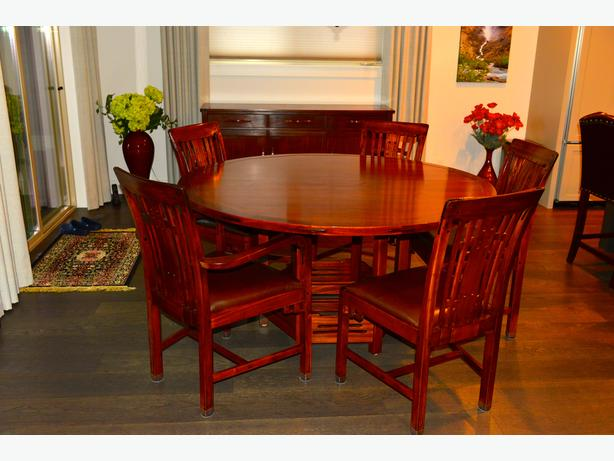 Stickley Dining Set and Buffet Table