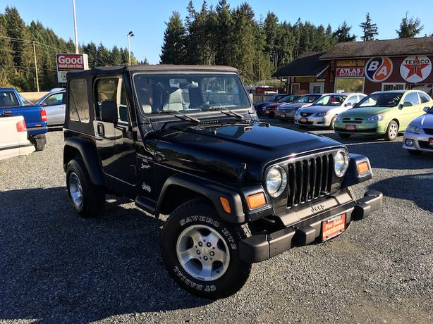 1999 Jeep TJ Sport - Great Shape & Super Low KM with Manual Transmission!