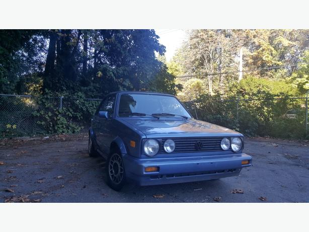 Cabriolet 1989 Volkswagen convertible $1900 automatic 4 cyl.