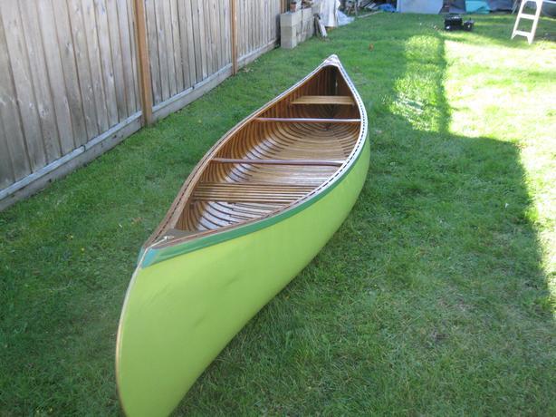 Cedar/ Canvas Canoe
