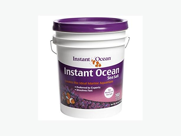 Instant Ocean Salt 160 gallon bucket new x2