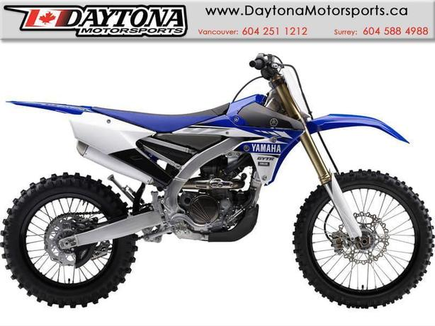 2017 Yamaha YZ250FX Off Road Bike  * BRAND NEW - Blue *