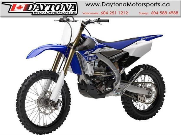 * SOLD * 2017 Yamaha YZ250FX Off Road Bike  * BRAND NEW - Blue *