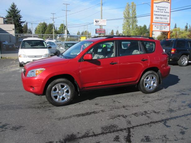 2007 TOYOTA RAV 4, 4X4 WITH AIR CONDITIONING