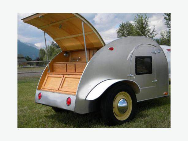 WANTED: Used Tear Drop trailer in good condition.