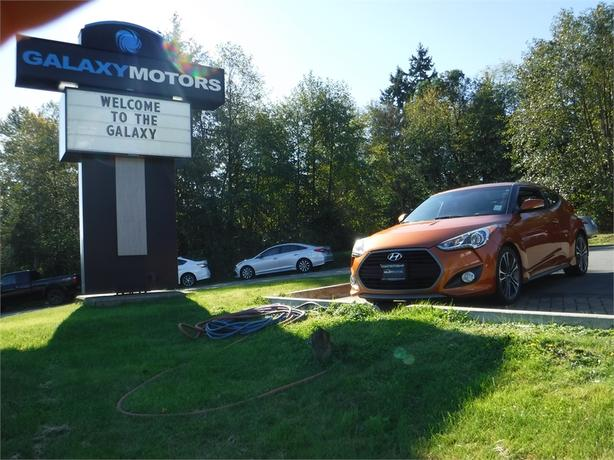 2016 Hyundai Veloster Turbo - Leather Int, Navigation, Active Eco
