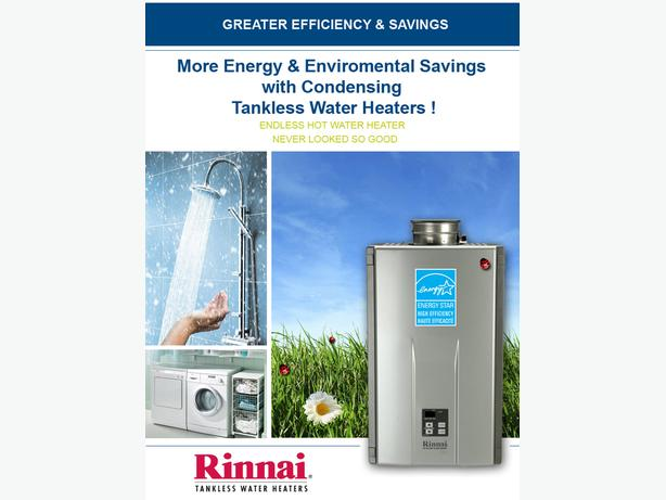 Tankless Hot Water Heater on Demand