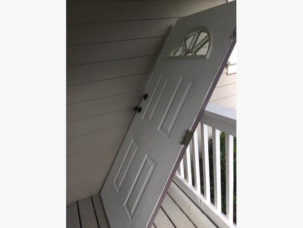 3' x 6'8 exterior steel door and jam