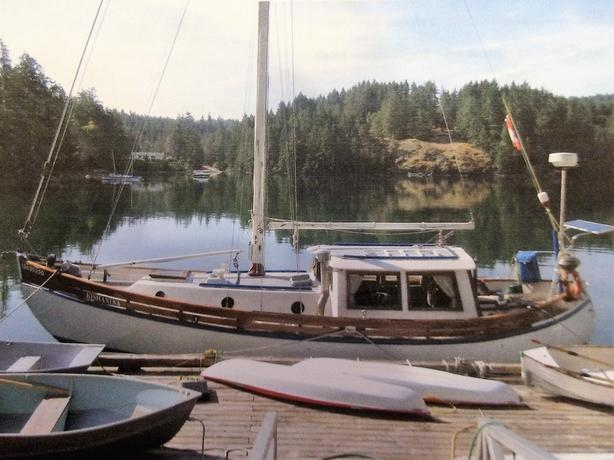 William Garden 32' Double-Ended Cutter Motor Sailer