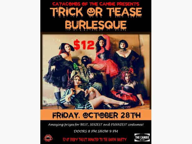 Trick or Tease Burlesque