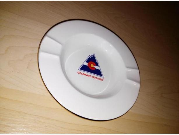 Vintage Colorado Rockies Ash Tray - Not Used